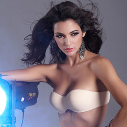Wholesale Can be mixed batch an anti emptied Seamless Bra Strapless Bra Invisible Bra wholesale