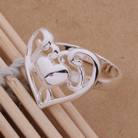 Wholesale New Design Charming Silver Plated Women s Ring Jewelry AR214