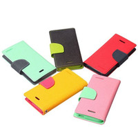 Mercury Fancy Diary Wallet Leather Case Cover For Apple ipho...