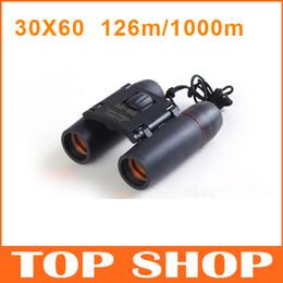 Wholesale Portable X60 Binoculars Night vision Telescope M M quot BK Folding color Aluminum alloy Outdoor Gadgets HW0024