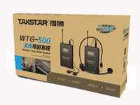 Wholesale Top Quality Takstar WTG UHF Wireless tour guide system voice device languages simultaneous interpretation teaching Church system
