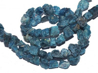 Wholesale DIY beads Freesize Natural Rough Apatite Nugget Gemstone Loose Beads Diy with necklace gift