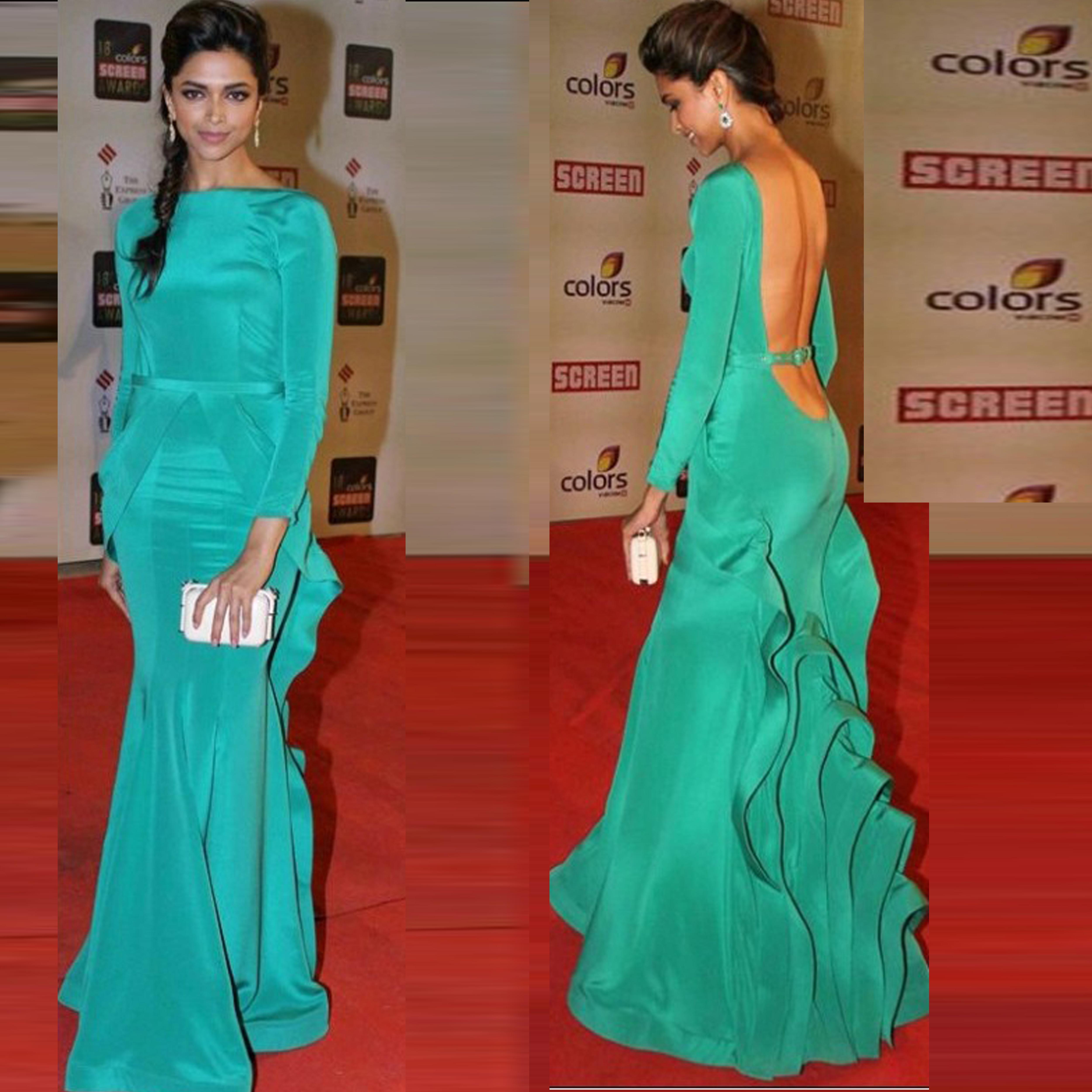 Evening Dress Celebrity Dress Ashi Studio Backless Myriam Fares ...