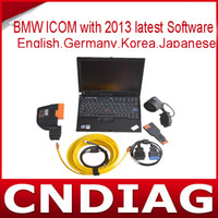 Wholesale with latest software with x61t laptop full set for BMW ICOM