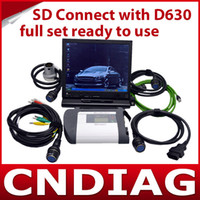 Wholesale 2013 latest Mb Sd Connect mercedes diagnostic tool auto ECU programmer with Dell D630 Laptop Ready to Use