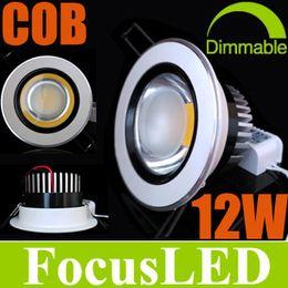 Wholesale Navidad Buy Consigue GRATIS W COB LED Downlight pulgadas Fixture empotradas Lámparas Ángulo Power AC110 V Conductor Warm Cool White K
