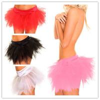 Corset & Bustier sexy spandex lingerie - 2014 New Sexy Lingerie Lace Tutu Skirt Fantasy Corset Skirt For Women Colors S M L XL XXL