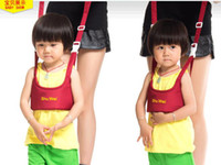 Wholesale Baby carrier Kid Toddler Safety Harness Strap Bag Anti lost Walking YY6F