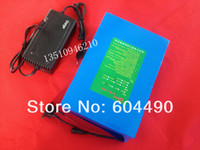 48V Rechargeable 48V free TNT shipping 1pcs lot 1000w 48V 20AH Battery for Electric Bike with charger ,BMS