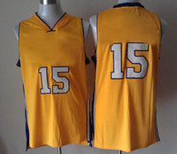 Wholesale Lakers Basketball Jersey Ron Artest Yellow Jersey Excellent Quality New Fabric Breathable Mens Sport Shirt Discount Basketball Wears