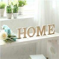 Wholesale Decorative Standing Wooden Letter Alphabet A Z Wedding Gift Decorative Store Decor Size cm