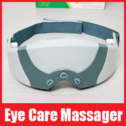 Wholesale Mask Migraine DC Electric Care Forehead Eye Massager Relax Alleviate Eye Fatigue Retail Box