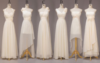 Reference Images Hand Made Flower Sleeveless Real Picture 2014 Best Selling Bridesmaid Dresses Sweet Princess Greek Style Goddess Light Yellow Party Evening Dress Any Color