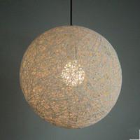 ball fixture - 40cm Moooi Random Pendant Lighting Lamp Modern Suspension Round Ball Light Holland Design Fixture Fashion Home Decor