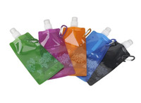 Wholesale The foldable water bottle guaranteed BPA free reusable bottle ml