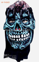 Wholesale Halloween Party Pirate Zombie Horror Mask Men s Horror Mask