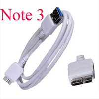 For Samsung   Newest Official Original Micro USB 3.0 Charger Data Sync Cable Adapter Cables For Samsung Galaxy Note 3 Note3 N9000 N9005 free shipping