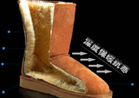 Wholesale Designer Snow Boots Mid Calf Boots Real Leather colors prs S7