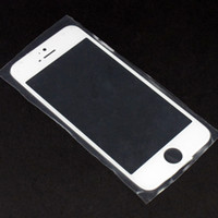 Wholesale Qualiy A For iPhone G c s Front Outer Glass Lens Screen Digitizer Touch Panel Screen Cover Black White DHL EMS