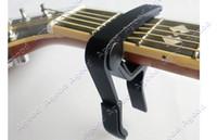Wholesale 10pcs The Single Handed Tune Quick Change Capo Trigger Guitar Black