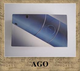 Descuento pluma vaporizador de hierbas AGO G5 de humo seco de la hierba vaporizador hierba seca pluma Clearomizer LCD cigarrillo electrónico indicador de batería 2013 510 cartucho de hilo de humo ego