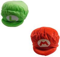 """10"""" Super Mario Bros Plush Hat Caps Stuffed Plush Doll ..."""