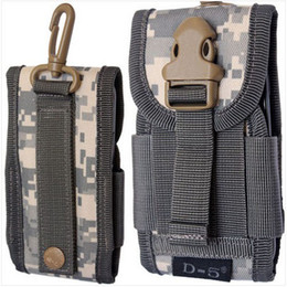 Wholesale Nylon Cloth Army Bag Sport For Mobile Phone Belt Loop Hook Cover Case Pouch Holster for iPhone S S C Samsung Galaxy NOTE3 S4 S Free DHL