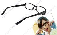 Wholesale 80pcs fashion Unisex Black Frame DJ Clear Lens Nerd Skater Polite eye Glasses