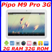 PIPO 10 inch Quad Core PIPO M9 Pro 3G tablet pc RK3188 Quad core 1.6GHz 10.1 inch FHD HFFS 2GB 32GB Dual Camare HDMI Bluetooth