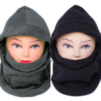 Wholesale New DPA Unisex in Thermal Fleece Balaclava Hood Police Swat Ski Bike Wind Stopper Can be Used As A Scarf Face Mask