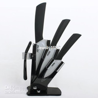 Wholesale Ceramic Knife Set Five Combinations inch inch inch Knife One Peeler Block Holder