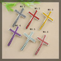 Wholesale 30pcs Antique silver plated SideWays plastic pearl alloy cross Connector Beads for making Bracelet jewelry findings x24mm