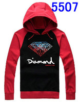 diamond supply co - Diamond Hoodies and Sweatshirts For Men many colors diamond thick hoodies with hats cotton diamond supply co HOODY S XXXL