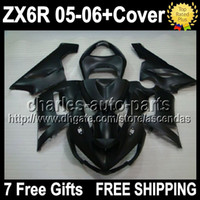 7gifts+ Tank Cover Fairing Kit Matte black For KAWASAKI NINJA...