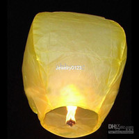 Sky Lantern Holiday  Sky Lanterns Wishing Lantern fire balloon Chinese Kongming lantern Wishing Lamp