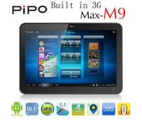 Wholesale Pipo M9 Built In G Quad Core quot IPS Tablet PC RK3188 GHz Bluetooth G G Android HDMI