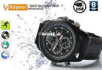 Wholesale Sports Spy Camera Watch With GB Memory