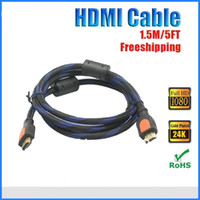 lcd tv hdtv - 1 m HDMI to HDMI Cable Version High Speed D and Ethernet For BLURAY D DVD PS3 HDTV XBOX LCD HD TV P by DHL JBD B4