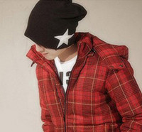 Wholesale 2013 New fashion Men and women pentagram To keep warm in winter Leisure hat