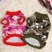 Coats, Jackets & Outerwears Fall/Winter Chirstmas cute dog clothes,pet clothes,Camouflage Style Cotton Shirt for Dogs,pet supplies,Pet Dog christmas gifts clothes,pet dog t-shirt