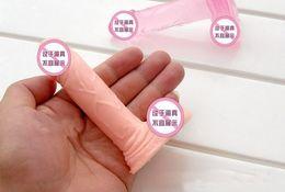 Wholesale Small Size Realistic Dildo Mini Silicon Penis Dildo Fake Little Penis Sauna Virgin Boy Sex Toy For Woman Adult Mini Dildos Realistic Penis