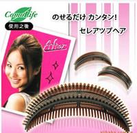 bang hair styles - DIY fluffy romantic princess hair and styling hair fluffy bangs clip stereoscopic head tool Puff
