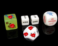 Halloween 5 designs pack  Free Ship 50pcs=10 packs (5 designs per pack) Funny Game Dice Sex Dice Toys Adult Sex Dice Products Christmas Gift