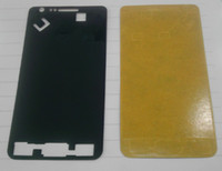 Wholesale Galaxy s2 s3 s4 note1 note Panel of the box back stick box adhesive stickers Module Replacement