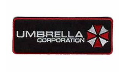 Wholesale Resident Evil Umbrella Corporation TV MOVIE FILM Embroidered IRON ON SEW ON Cool Biker Vest Patch Military Badge