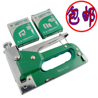Wholesale with three nailer nail gun manually Stapler Nailer canvas billboard horse tack