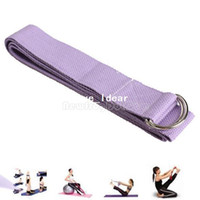 55075.03   6FT Yoga Stretch Strap Training Belt Waist Leg Fitness Exercise Gym New NI5L