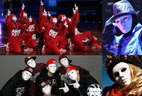 Wholesale 2013 new Hip hop JabbaWockeeZ Blank Male Face Mask Halloween Party Mask Worldwide
