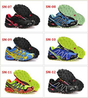 Wholesale Color New Zapatillas Salomon Speedcross Running Shoes Men s Walking Ourdoor Sport Athletic Shoes SZ