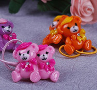 Hairbands Plastic Animal 2013 explosion models TS0375 Free Shipping Korean version of Winnie the resin hair accessories wholesale